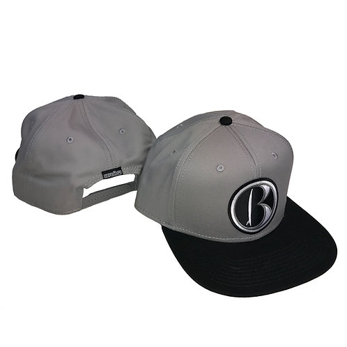 """B icon""Patched Twill Snap-back-Assrt Colors"