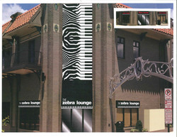 Zebra lounge piano bar in Memphis