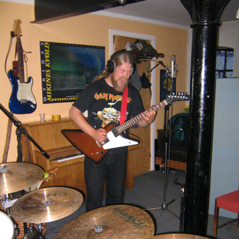 Morten - Hinterland recording session