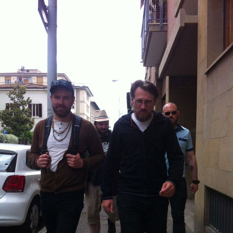 Strolling in Italy
