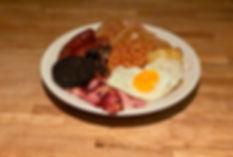 Self Catering Cooked breakfast Hamper