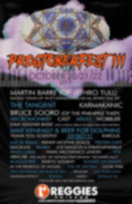Wobbler, poster, Progtoberfest, 2017