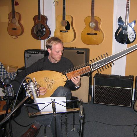 Hinterland recording session - Ulrik Gaston Larsen