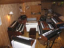Wobbler, Lars Fredrik Frøislie, keyboards, mellotron, moog, hammond