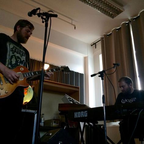 Marius & Lars - rehearsal room