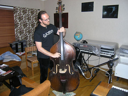 Wobbler, Afterglow, recording, Interlude, double bass, Kristian Hultgren