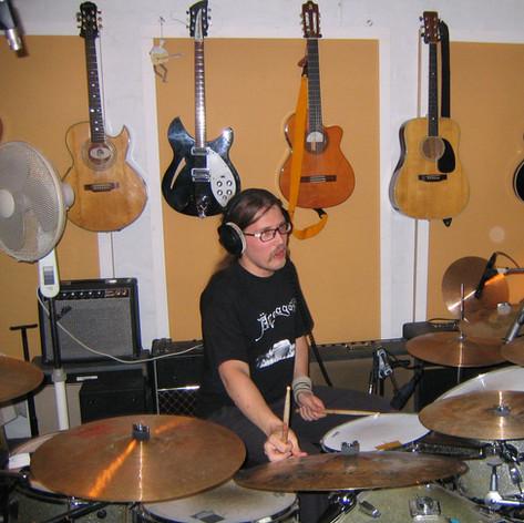 Martin - Hinterland recording session