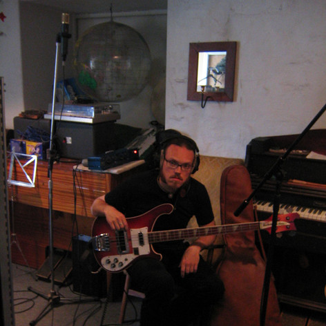 Hinterland recording session - take....42?