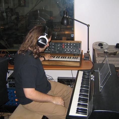 Lars - Hinterland recording session