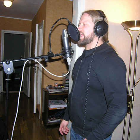 Tony Johannessen - Afterglow recording session