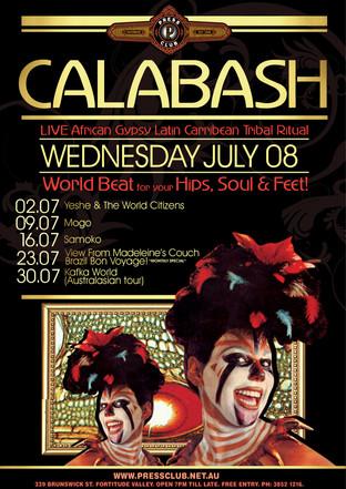 Calabash - Press Club  DJ Bluesabelle  World Jazz