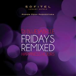 DJ Bluesabelle Sofitel Fridays Cocktail Happiness Hours Lady Bluesabelle  International Lounge