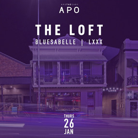 DJ Bluesabelle - APO Loft Brisbane Australia Female DJ