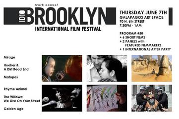 DJ Bluesabelle - Brooklyn International Film Festival