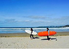 Surfing Spain