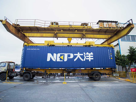 The Industry monopolised by China: The birth of the Container