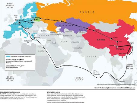China railway to Europe