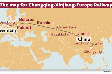 Shipping from China to Europe