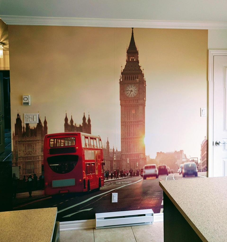 murale londre