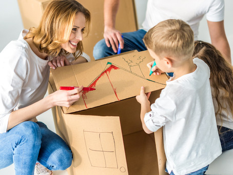How to Survive Moving with Kids!