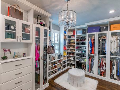 Make Your Small Closet More Glamorous
