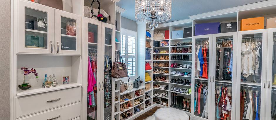 Make Your Small Closet More Glamorous