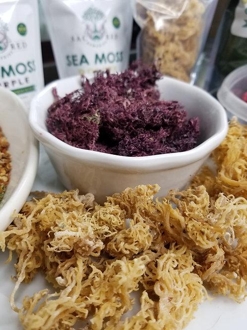 Raw Purple & Gold Sea Moss (Mixed Bag)