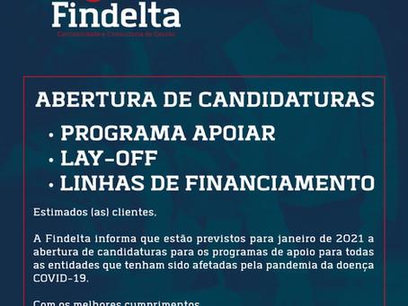 Programas de Apoio - Abertura de Candidaturas