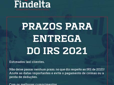 Entrega do IRS 2021