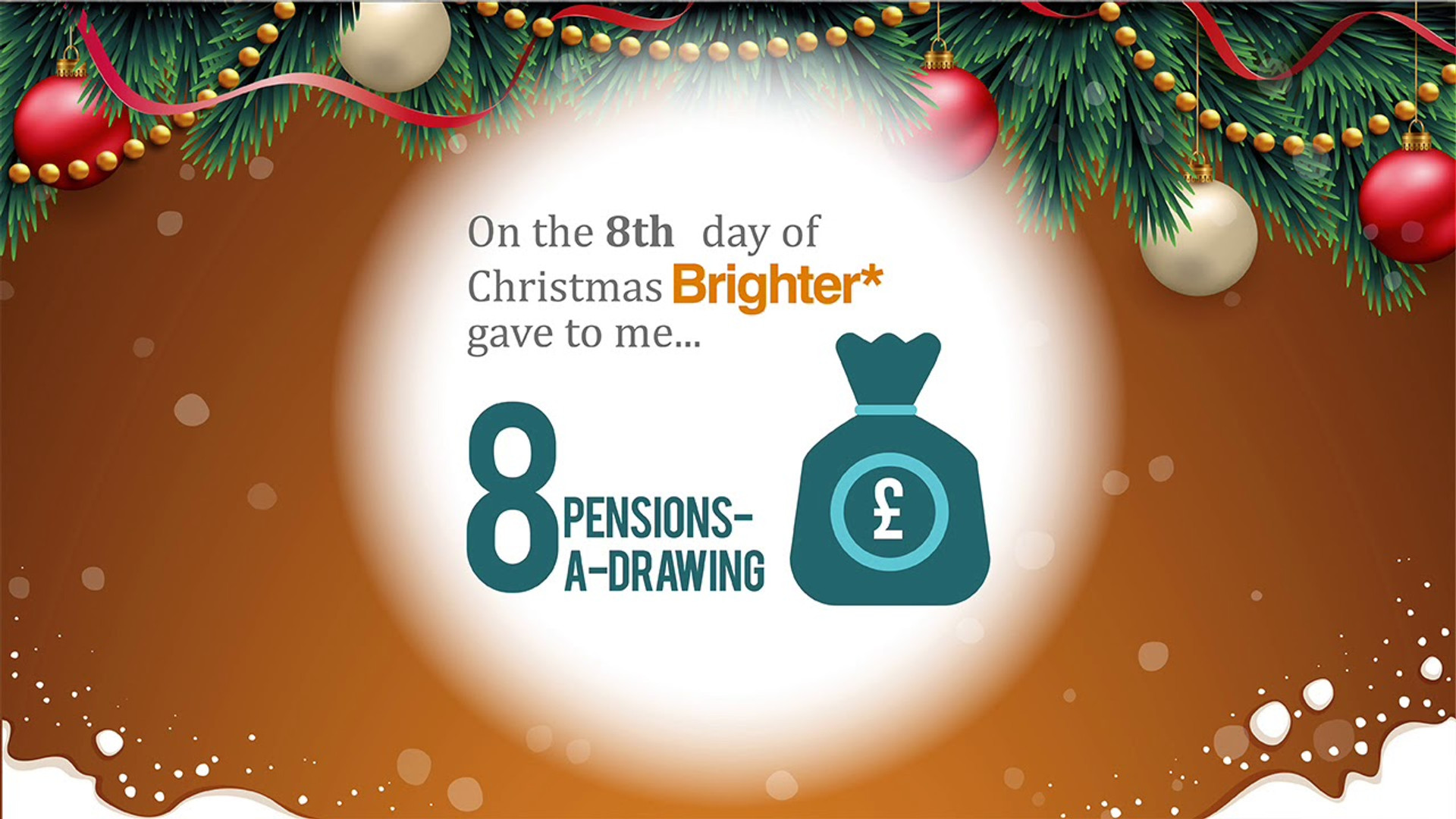 Brighter Financial 12 Days of Christmas