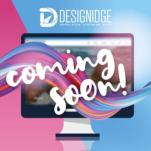 Designidge Website Coming Soon Advert.jp