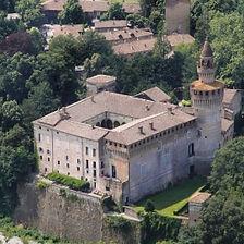 Castello di Rivalta vicino alla Locanda dei2