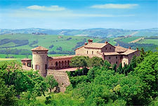 Castello di Scipione vicino alla Locanda dei 2