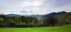 Vista delle colline