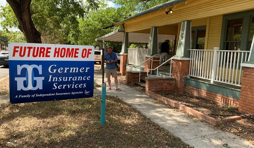 Future Home of Germer Insurance