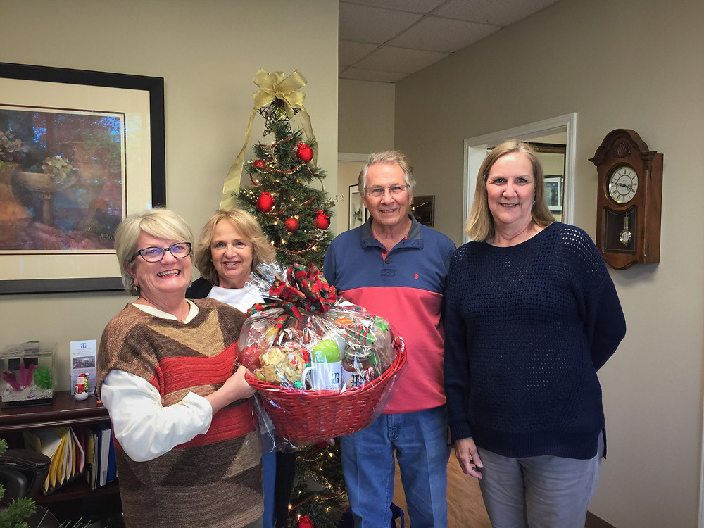 Gift Basket Winners - Hollis and Nita Eppes
