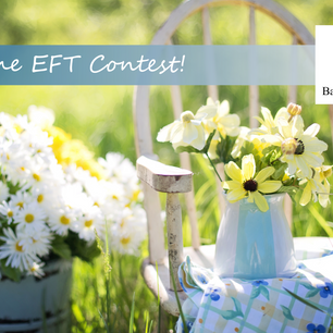 May's EFT Winner and June's Contest