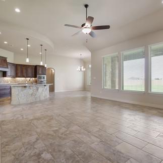 Living Area/Kitchen Windows