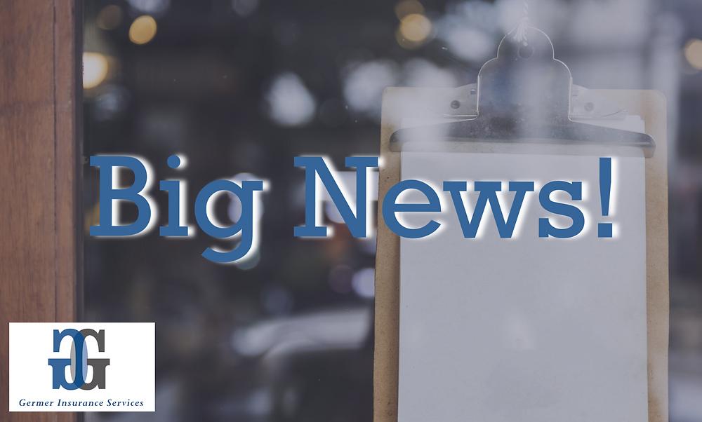 Big News! Germer Insurance has acquired Garfield Insurance Service!