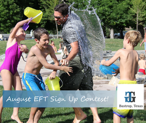 Sign up for EFT in August Contest