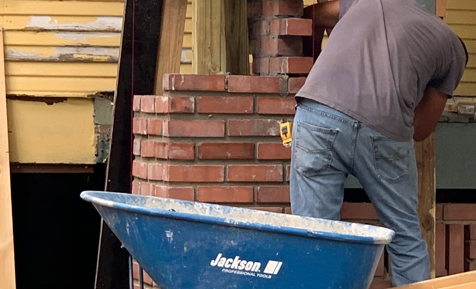 Germer Insurance Brick Laying