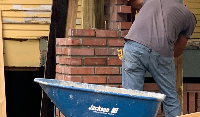 Germer Insurance Brick Laying