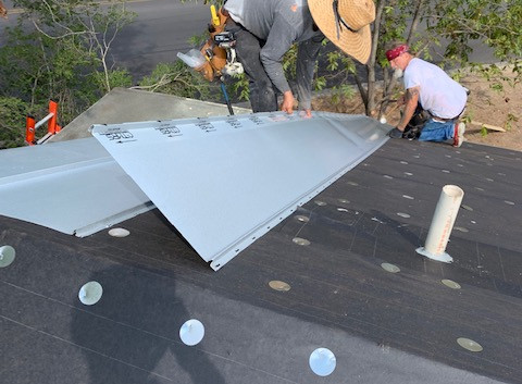Germer Insurance Roof Installation