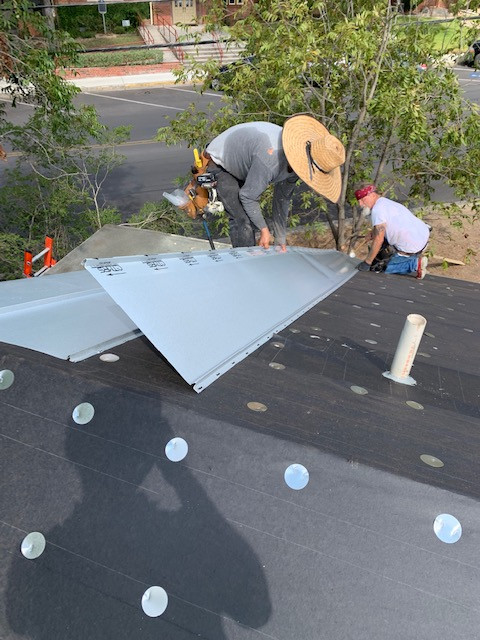 Germer Insurance Roof Installation