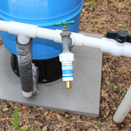 Freeze Miser Water Tank Installation