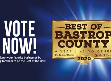 Vote Greg for Best of Bastrop County!