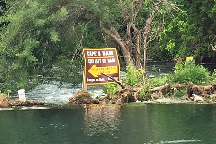 Cape's Dam San Marcos TX