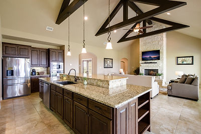 Beautiful Kitchen appliances and countertops