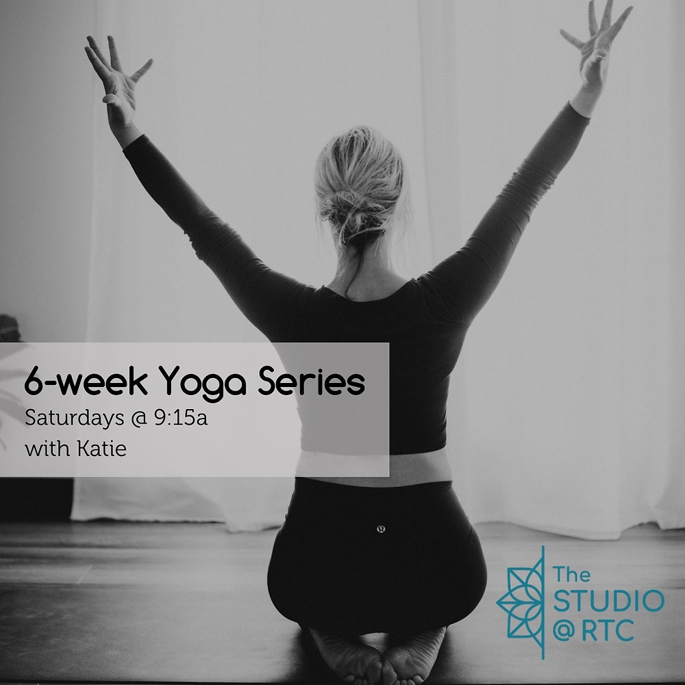 Yoga Series in Studio Virginia Beach