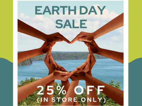 Earth Day! Join us for an Earth Day Community Outreach
